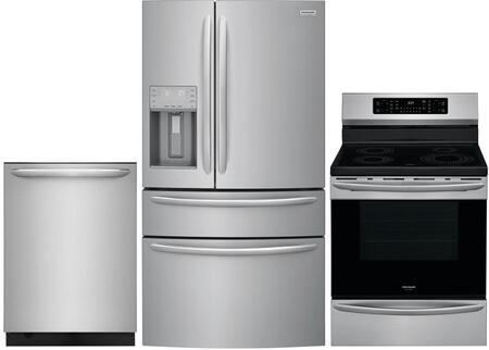 Frigidaire  1010217 Kitchen Appliance Package Stainless Steel, Main image