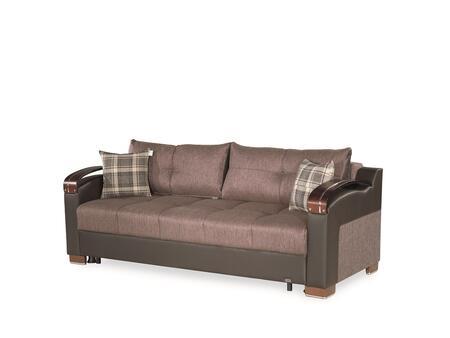 Casamode Divan Deluxe DIVANDELUXESOFABROWN05648 Sofa Bed Brown, Main Image