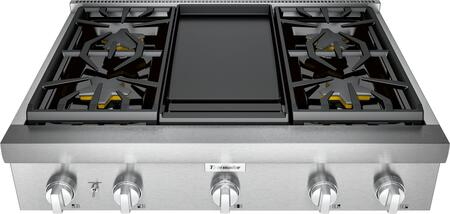 Thermador Professional PCG364WD Gas Cooktop Stainless Steel, Main View