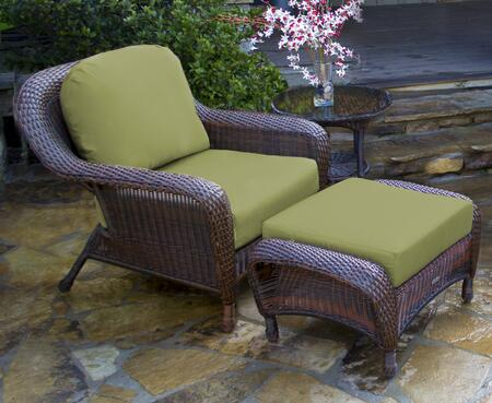 Tortuga Sea Pines LEXSTCO1JX Outdoor Patio Set Brown, 1