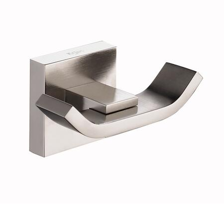 Kraus Aura KEA14401BN Bathroom Hooks Silver, Brushed Nickel