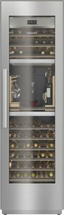 KWT2661SFS 24″ MasterCool Series Triple Zone Wine Column with SommelierSet  Push2Open  FlexiFrame  BrillantLight LED  WiFiConn@ct  MasterSensor Touch