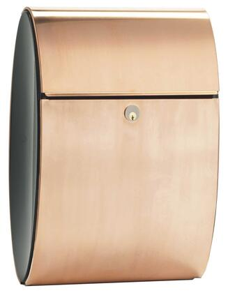 ALX-ELI-CP Allux Series Mailboxes Ellipse in Copper