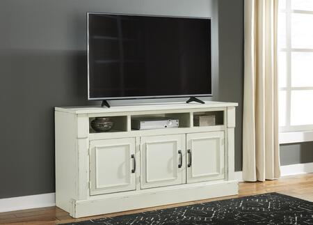 Signature Design by Ashley Blinton W72330 52 in. and Up TV Stand White, Main Image
