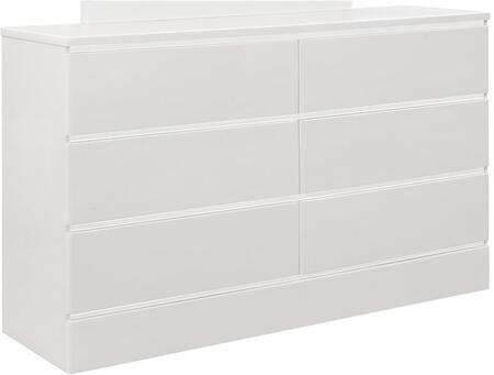 Global Furniture USA Global Furniture USA BAYVIEWWHITEDR Dresser White, Global Furniture Bayview White Dresser 8d310551 e305 43e4 ab80 4f6c58f85b08 1000