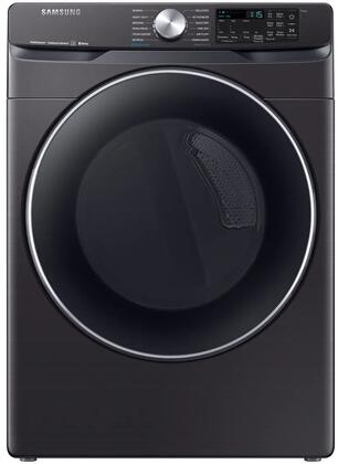 Samsung DVE45R6300V Electric Dryer Black Stainless Steel, Main Image