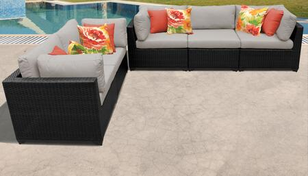 TK Classics BELLE05DBEIGE Outdoor Patio Set, BELLE 05d BEIGE