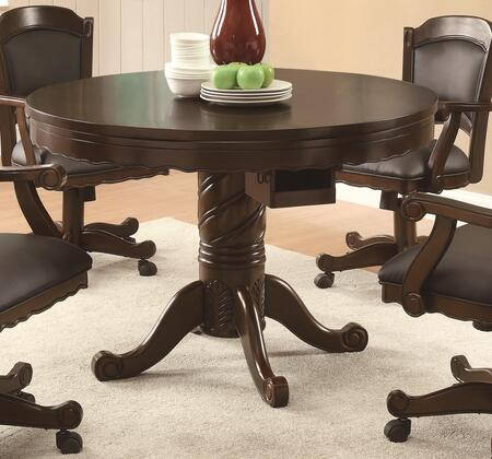 Coaster Turk 100871 Combination Game Table Brown, 1
