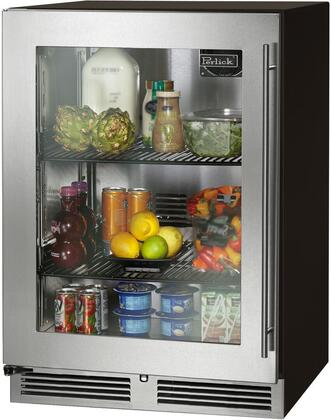 Perlick C Series HC24RB43L Compact Refrigerator Stainless Steel, Main Image