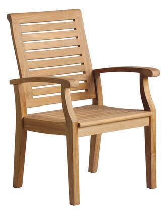 Douglas Nance Cayman DN2255 Patio Chair Brown, DN2255 Main Image