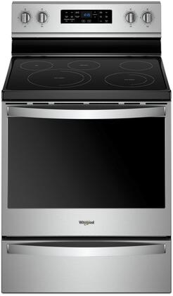 Whirlpool WFE775H0HZ Freestanding Electric Range Stainless Steel, Main Image
