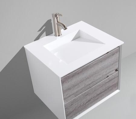 Tahiti Collection MTD-4024GO 24″ Floating  Single Sink Bathroom Vanity in