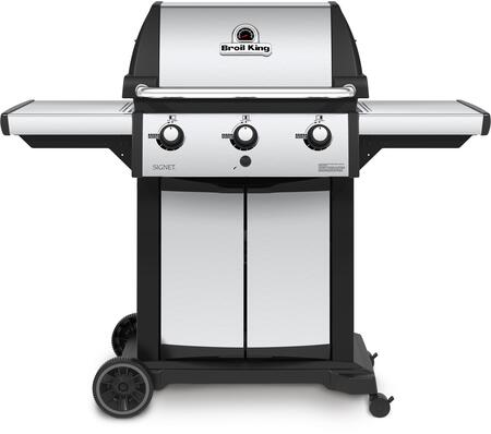 Broil King Signet 946854 Liquid Propane Grill Stainless Steel, Main Image