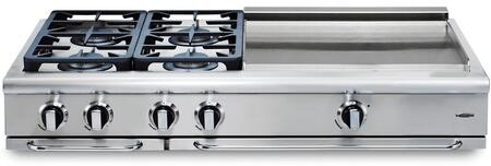 Capital Precision GRT484GN Gas Cooktop Silver, Main Image