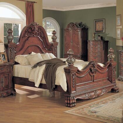 Myco Furniture Kelsey KL6301K Bed, 1