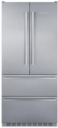 Liebherr CBS2082 French Door Refrigerator Stainless Steel, CBS2082 Fridge-Freezer with BioFresh and NoFrost