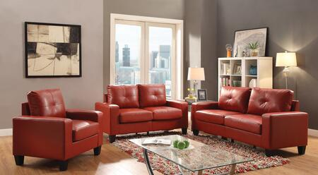 Glory Furniture Newbury G465ASET Living Room Set Red, 1