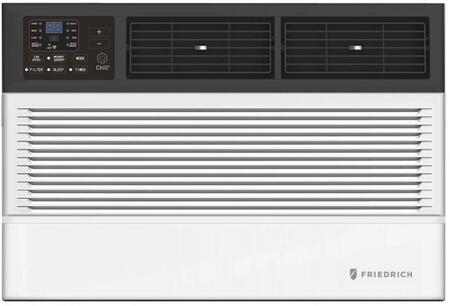CCW18B30A 24″ Chill Premier Smart Room Air Conditioner with 18 000 BTU Cooling Capacity  Auto Restart  Washable Antimicrobial Air Filter and 3 Speeds