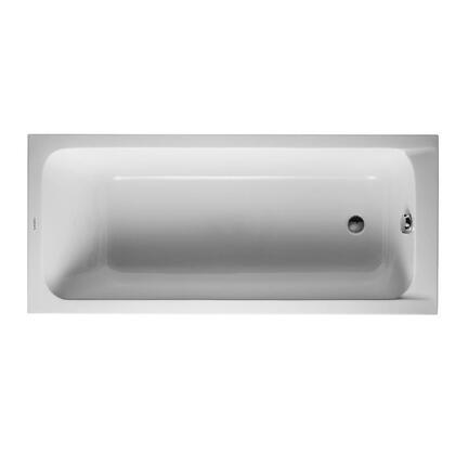 Duravit D-Code 700096000000090 Bath Tub White, 700096