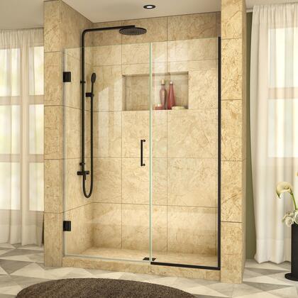 DreamLine  SHDR24505721009 Shower Door , UnidoorPlus Shower Door 39 30D 22P 09