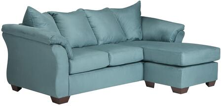 Flash Furniture Darcy FSD1109SOFCHSKYGG Sectional Sofa Blue, 1