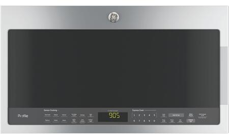 GE Profile PVM9005SJSS Over The Range Microwave Stainless Steel, Main View