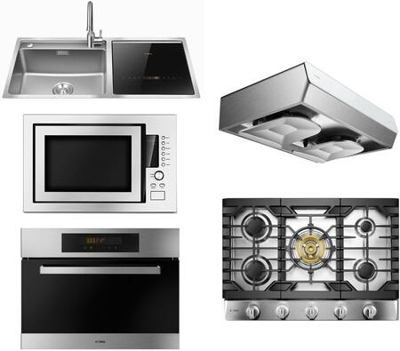 Fotile  1486433 Kitchen Appliance Package Stainless Steel, main image