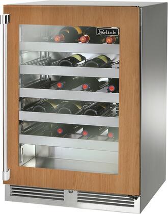 Perlick Signature HP24WS44RL Wine Cooler 26-50 Bottles Panel Ready, Main Image