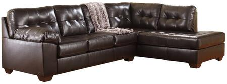Signature Design by Ashley Alliston 201011766 Sectional Sofa Brown, 1