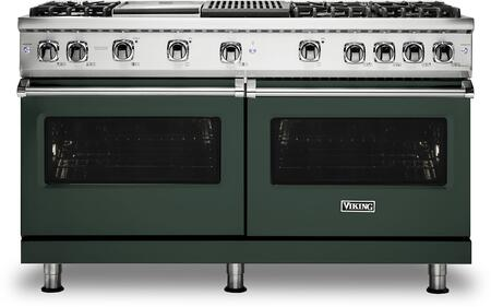 Viking 5 Series VGR5606GQBF Freestanding Gas Range Green, VGR5606GQBF Gas Range