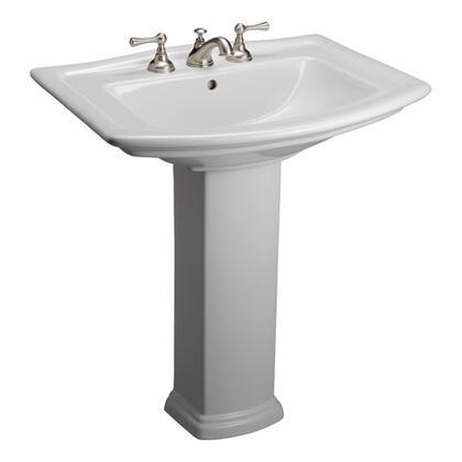 Barclay Washington 3418WH Sink , Faucet Hole Option