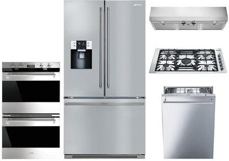 Smeg 1054388 Kitchen Appliance Package & Bundle Stainless Steel, main image