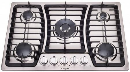 Unique UGP30CT1 Gas Cooktop Stainless Steel, Main Image