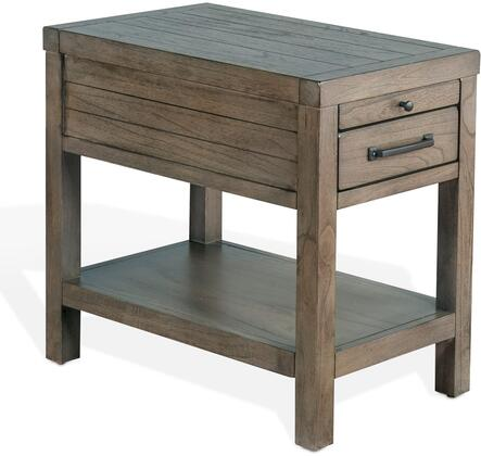 Sunny Designs Glasgow 3271CGCS End Table Gray, Main Image