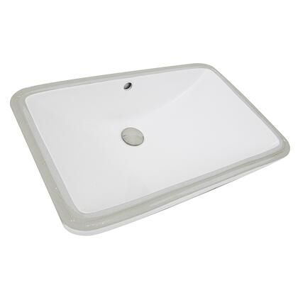Nantucket Great Point UM2112W Sink White, UM-2112-W Main Image