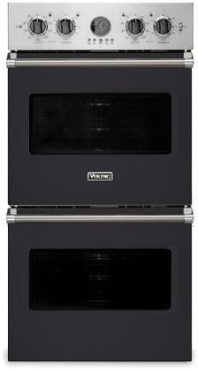 Viking 5 Series VDOE527GG Double Wall Oven Slate, Main Image