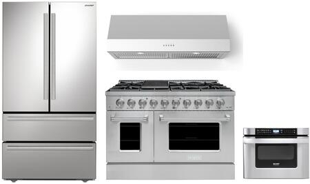 Appliances Connection Picks SHARP  1500850 Kitchen Appliance Package Stainless Steel, Main Image