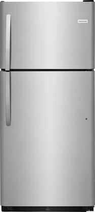 Frigidaire  FFTR2021TS Top Freezer Refrigerator Stainless Steel, Main Image