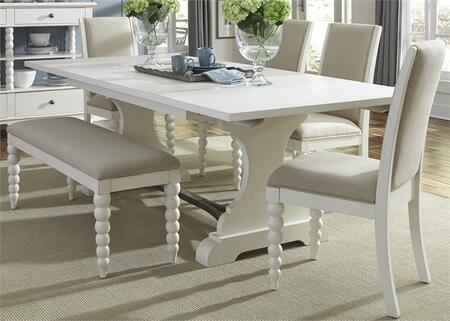 Liberty Furniture Harbor View II 631DRO6TRS Dining Room Set White, Main Image