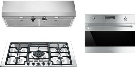Smeg 1054465 Kitchen Appliance Package & Bundle Stainless Steel, main image