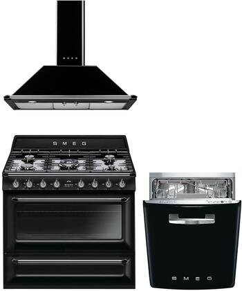 Smeg 1054493 Kitchen Appliance Package & Bundle Black, main image