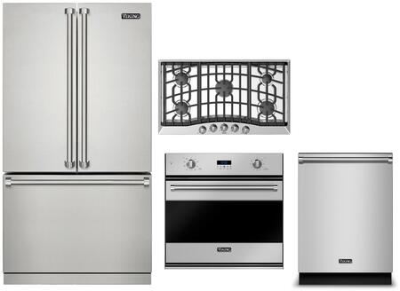 Viking  1310826 Kitchen Appliance Package Stainless Steel, Main Image
