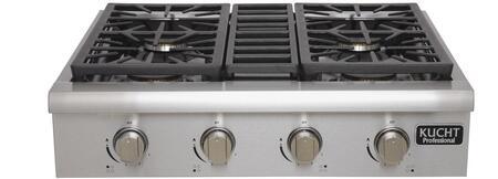 Kucht  KRT301GU Gas Cooktop Stainless Steel, 1