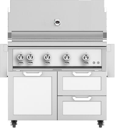 Hestan  851960 Liquid Propane Grill White, Main Image