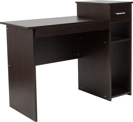 Flash Furniture Highland NANNJHD3518BGG Desk Brown, 1