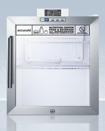 AccuCold  SCR215LNZ Beverage Center Stainless Steel, SCR215LNZ Compact Beverage Center