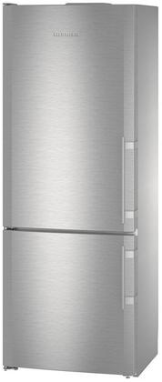 Liebherr  CBS1661 Bottom Freezer Refrigerator Stainless Steel, CBS1661 Fridge-Freezer with BioFresh and NoFrost
