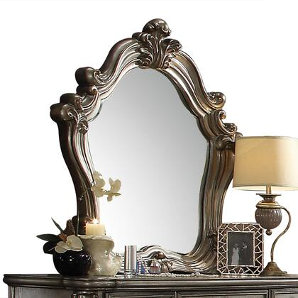 Acme Furniture Versailles 26844 Mirror Silver, Angled View