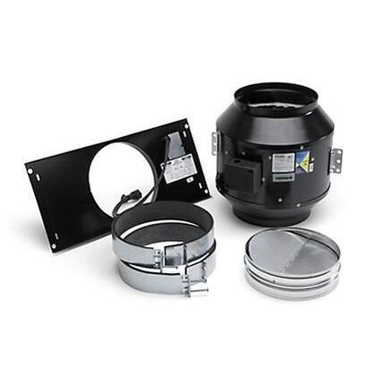 Viking  DIL1200 Range Hood Blower Black, In-Line Ventilator Kit