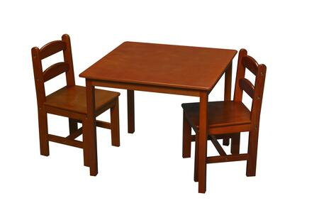 3018H Children's Table and Chair Set with 2 Chairs in